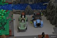 samochody z klocków Lego